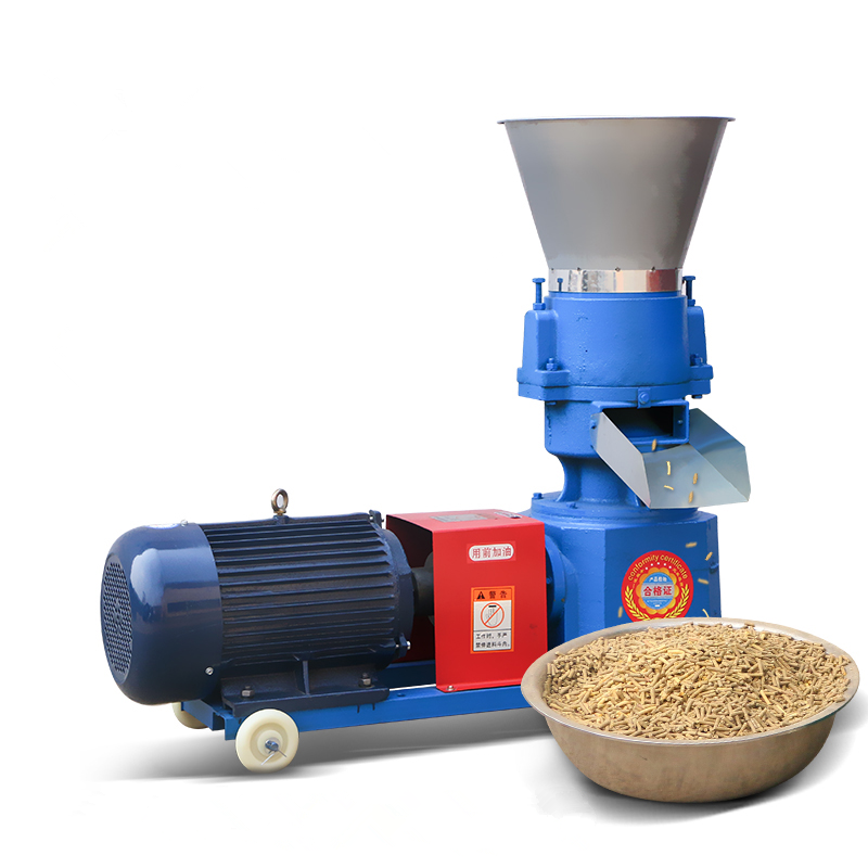 Fabriek levering direct platte sterven pellet feed machine