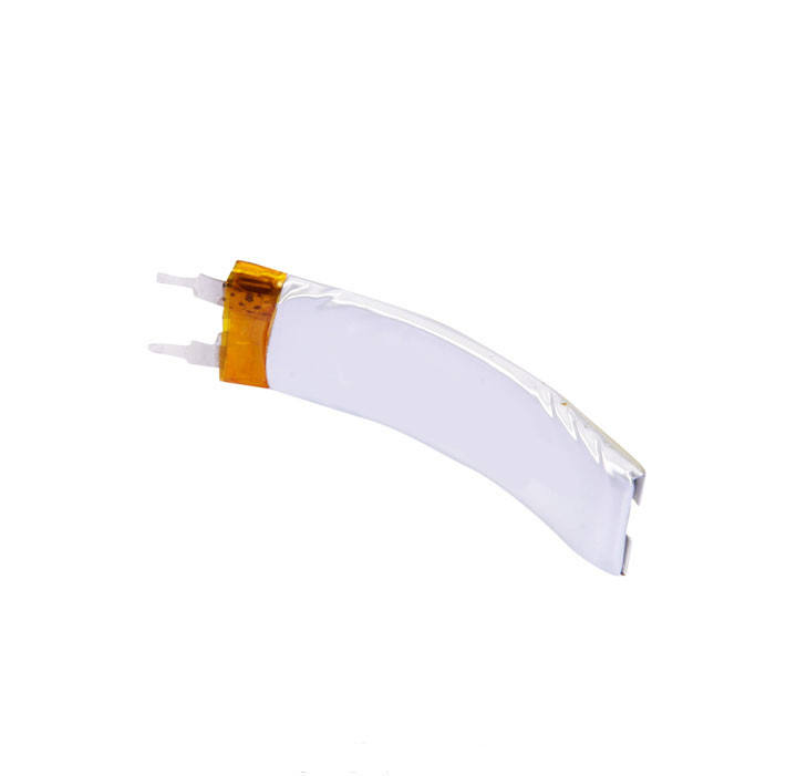 3.7V 85mAh Rechargeable Flexible Curved Lithium Polymer Battery 153030R for Smart Bracelet