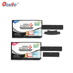 private label natural teeth whitening bamboo strips and gel pen kit
