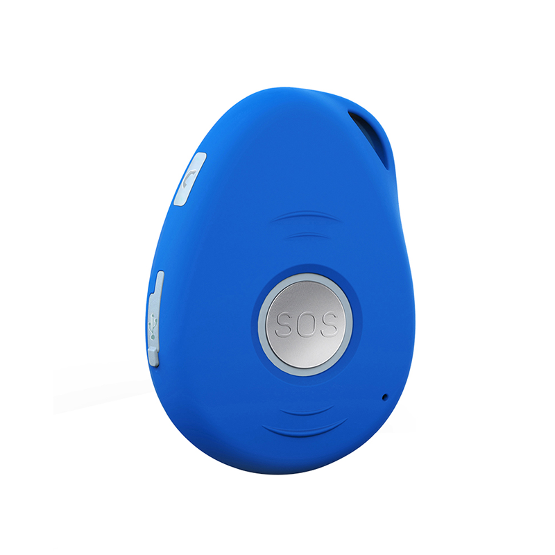 EV-07S 100% Waterproof Mini GPS Tracker Chip for Kids Senior SOS Button with Fall Down Alarm Two Way Talk
