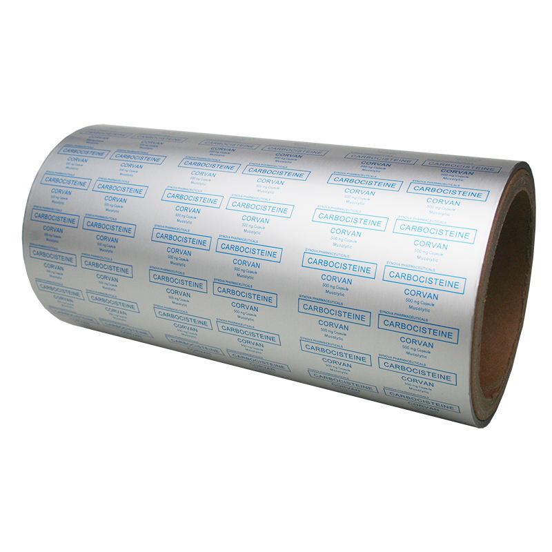 Printable Blister Aluminum Foil 20 micron Hard coated with Heat Sealing Lacquer for Capsule Packaging