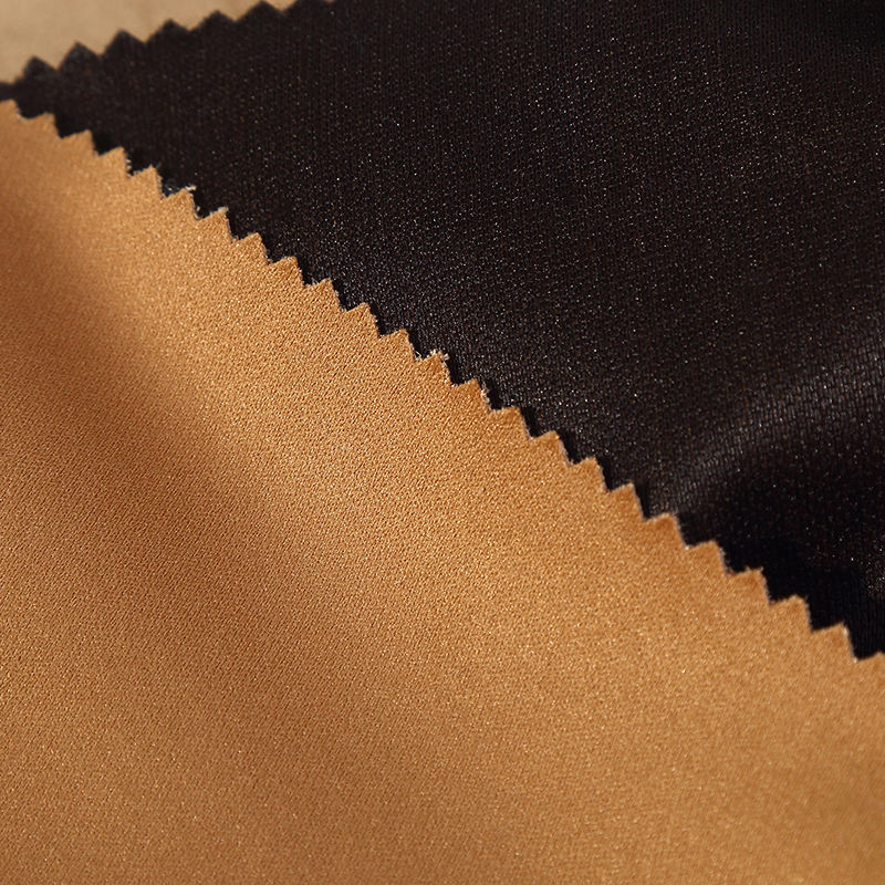 100% polyester suede bonded 2 in 1 for bag/shoes/Garment/car seat