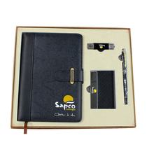 engravable premium pen notebook custom office gift sets promotion corporate business mens gift set luxury
