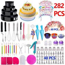 Amazon Top Seller Wilton Reposteria Decoration Tip Kit Baking Supply Turntable Fondant Accessory Mould Cake Decorating Tool Set