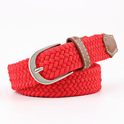 Womens Child Elastic Belts For Jeans Knitted Belts New Mens
