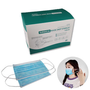 Medical grade facemask three ply medical disposable earloop face mask