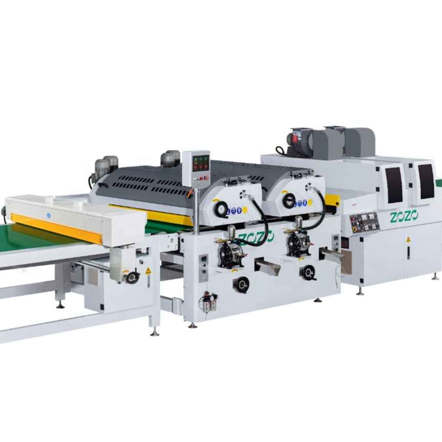 Automatic panels UV Roller Coating production Line factory price