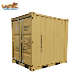 4ft 5ft 6ft 7ft 8ft 10ft Mini Portable Storage Shipping Container Set with Aluminum Manifest Box