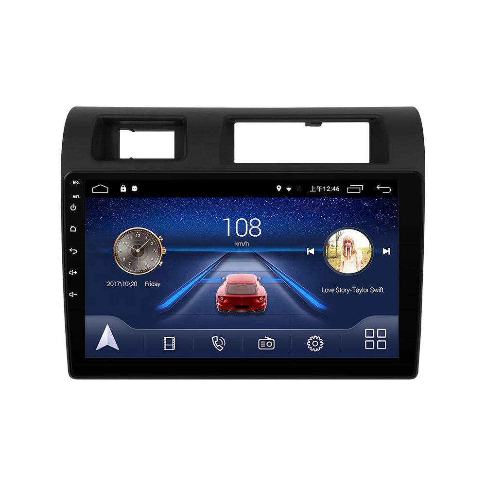 Car Dvd Player For TOYOTA LandCruiser 2015 years 4+64g Mirror Android Radio Oem Link Gps Wifi Ram Octa Touch Rohs Support