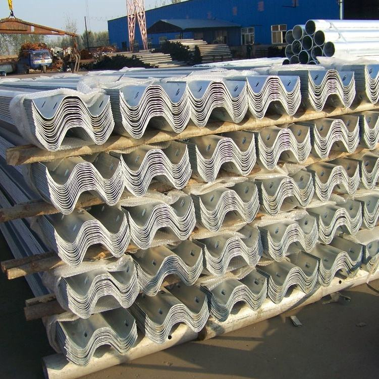 [ Highway Guardrail ] Highway Guardrail Manufacturer Durable Great Corrosion Resistant Highway Guardrail Column Space 2m/4m
