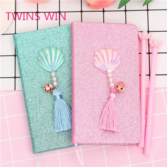 Free sample Competitive price eco friendly paper printed mini diary notebook and gel ink pen stationery items set for office 399