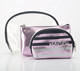 China 3pcs Waterproof Cosmetic Bag Transparent Round Zipper Clear Pvc Set Makeup Bags