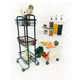 Factory Wholesale Kitchen Cheap 3 Tiers Metal Fruit Basket Stand