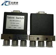 SPDT, N, 12.4G, Failsafe/Latching,D-SUB Mechanical Coaxial Switch
