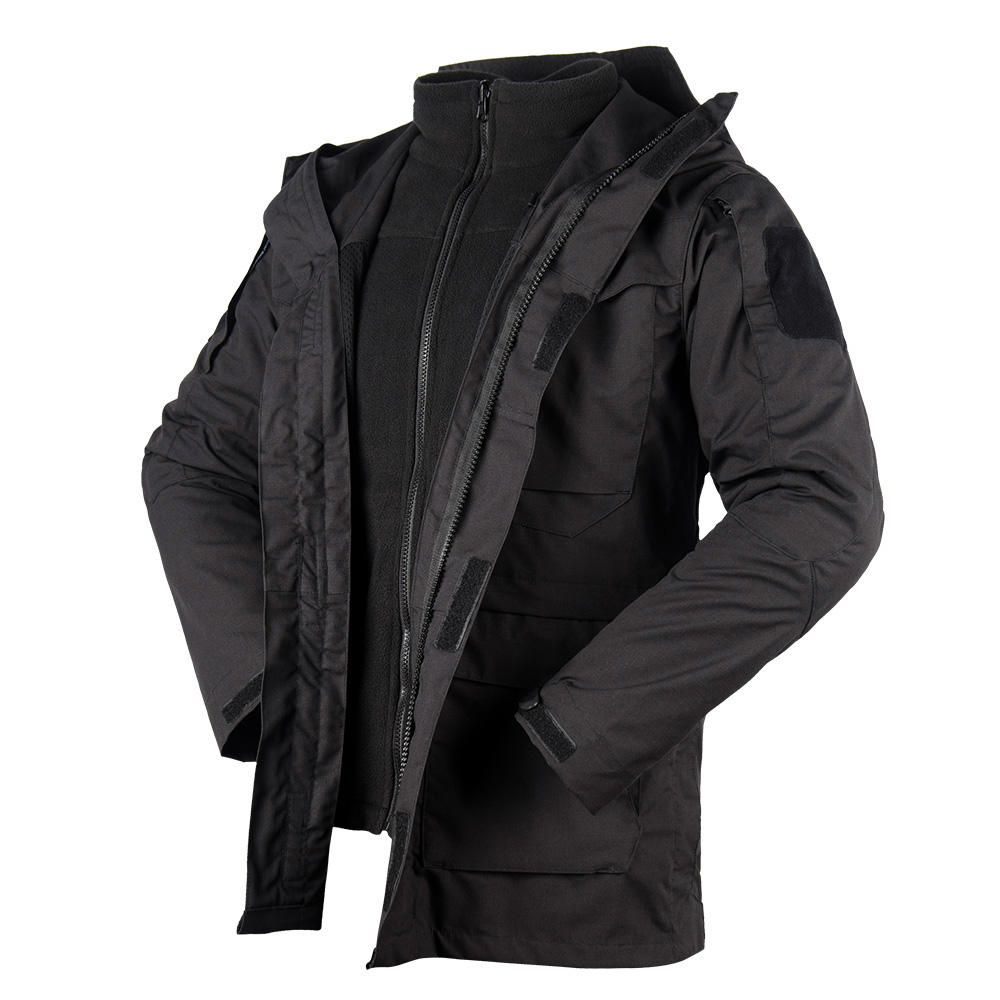 Army & Police Winter Outdoor Windproof Tactical Executive Three in One Jacket