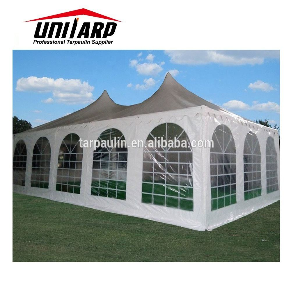 Material transparente da tenda da da barraca do tubo do pvc