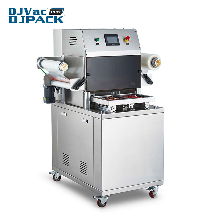Video Technical Support [ Food ] Meat Packing Machine Fresh Meat And Seafood Food Vacuum Skin Packaging Machine