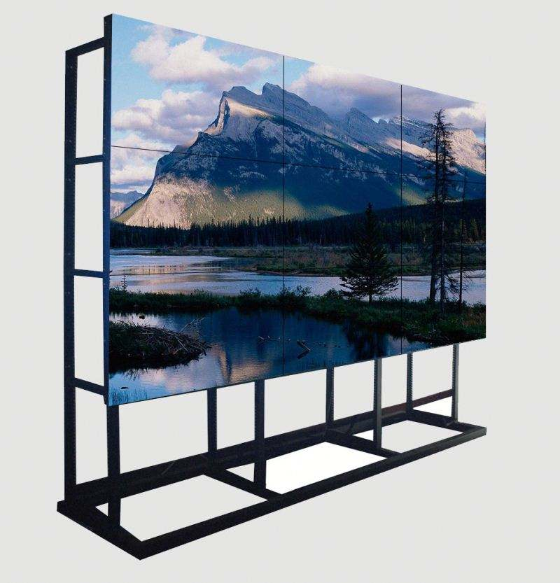 Ultra Narrow Bezel lg 55 pollice 3.5mm parete video lunetta <span class=keywords><strong>lcd</strong></span> per la tv televisione in studio