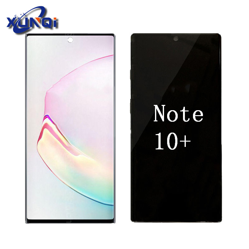 lcd note 10+ with frame For samsung note 10+ lcd screen display Spare parts SM-N975U
