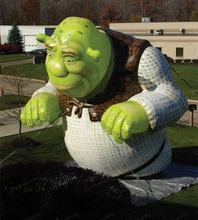 2020 Hot sale giant inflatable shrek for advertising