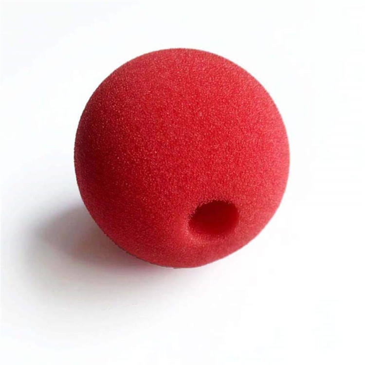 Customised high quality Sponge Ball Red Foam Clown Nose for Birthdays Halloween Christmas Party