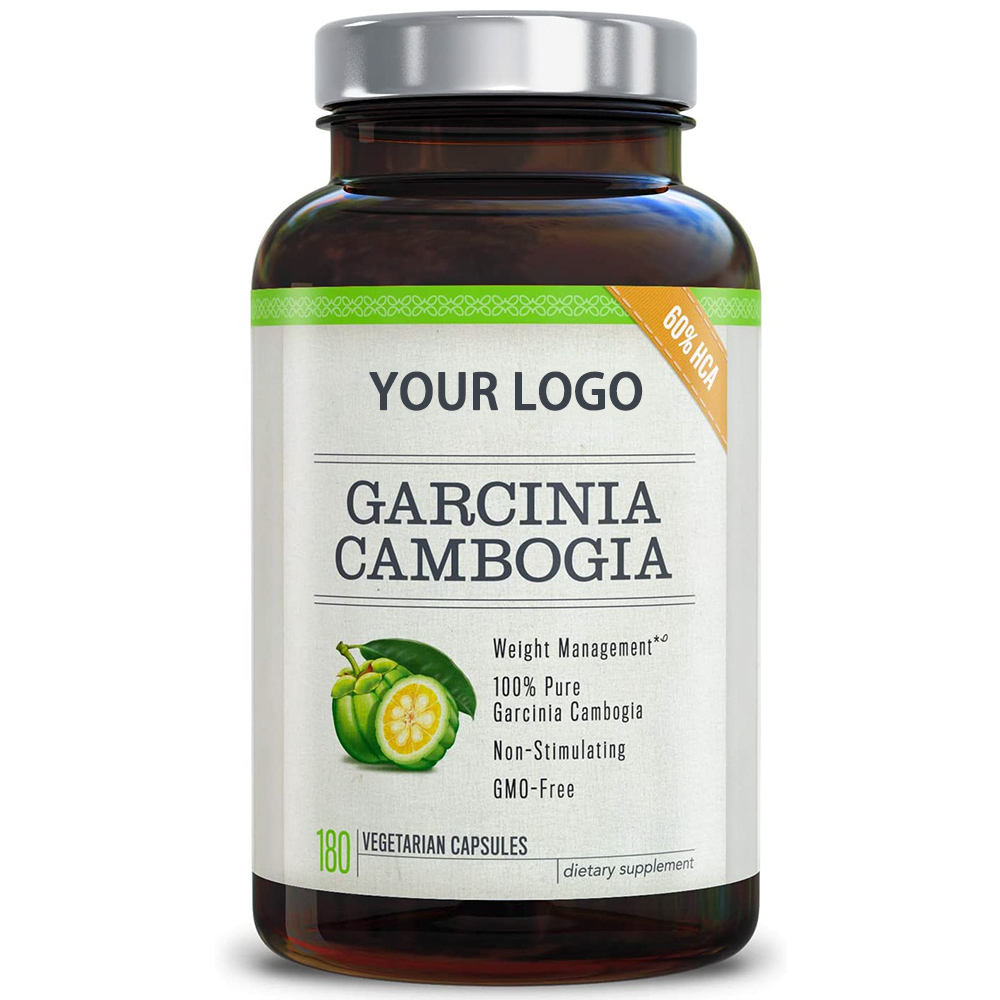 100% Natural Garcinia Cambogia Capsules Supports Weight Loss and Curbs Appetite