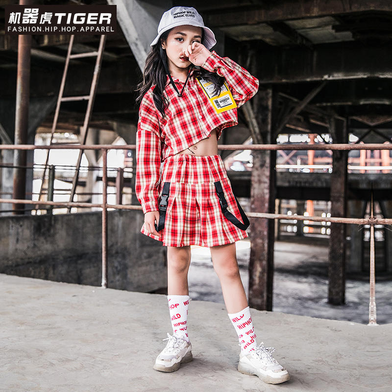 Fashionable Online Store Hip-Hop Baby Clothing Cheap Girl Clothes