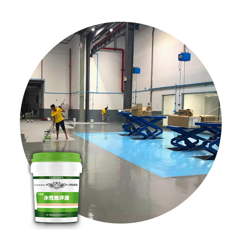painting resin acrylic spray epoxy floor paint for the concrete floors
