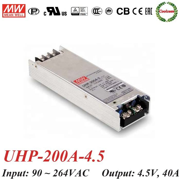 Meanwell UHP-200A-4.5 180 ワットスイッチング電源モジュール