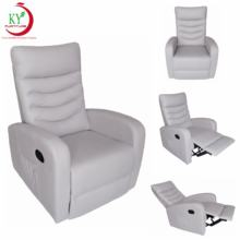 JKY Furniture Modern Adjustable Armchair Manual Recliner Sleeper Single Lounge Chair In Fabric for Living Room Bedroom