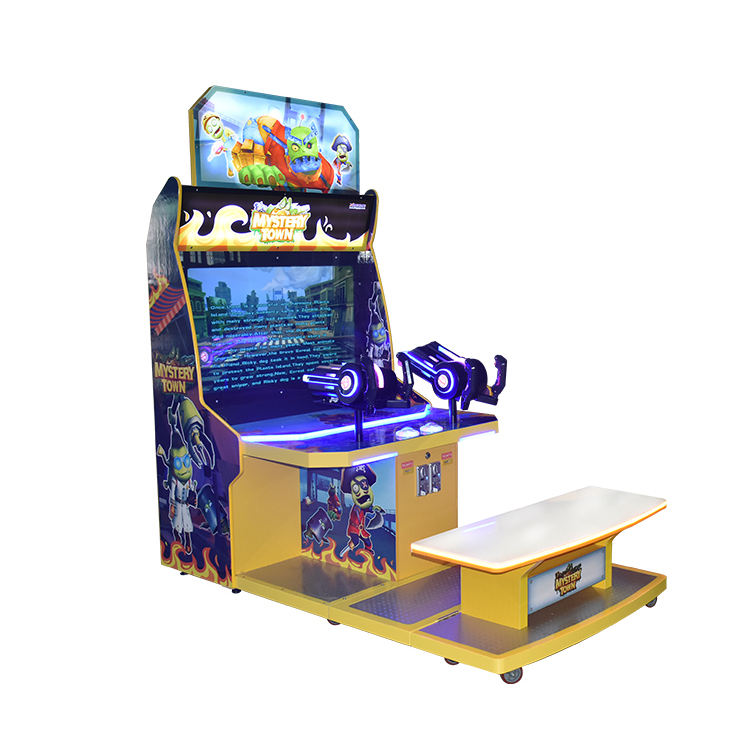 Quality Assurance New Design Arcade Machine Games 2 Player Arcade Shooting Game Machine for Kids