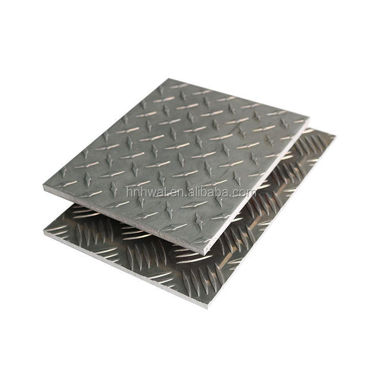 newest price wholesale 1xxx 3xxx 5xxx 6xxx 8xxx series diamond embossed aluminum checkered aluminium tread plate