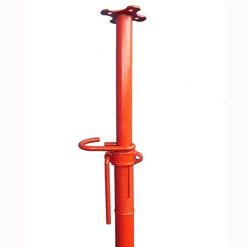 2 para 3m ajustável andaime/piso nivelamento jacks/suporte de aço para construção