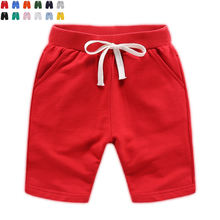 high quality 100%cotton custom print baby kids shorts pants children wholesale boy shorts
