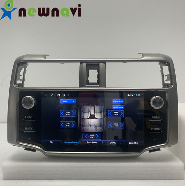 Newnavi hot sale factory price car dvd player car GPS navigation for Toyota 4 runner with high quality mirror link