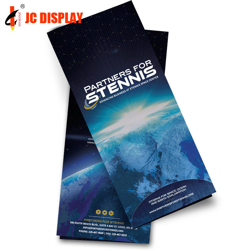 OEM advertising brochure printing flyers copy paper