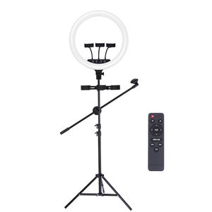 Joyroom Video Live Streaming Youtube 18 Inch Mobiele Mobiele Telefoon Houder Selfie Stok Statief Led Cirkel Tiktok Ring Light Stand