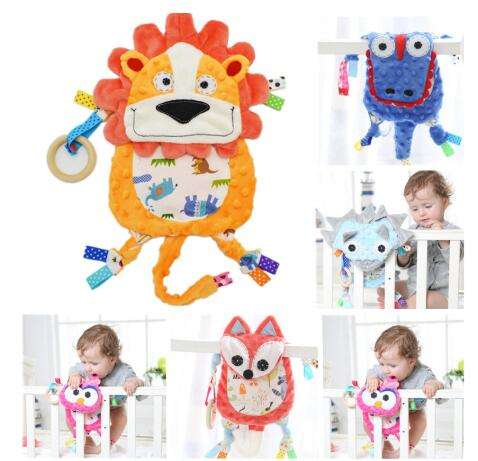 Baby Soft Rattles Mobiles Stroller Toys 0-12 Months Appease Towel Rattles Doll Gift For Soothe Calm Towel 30% off