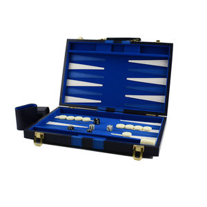 Wholesale leather backgammon board game backgammon set