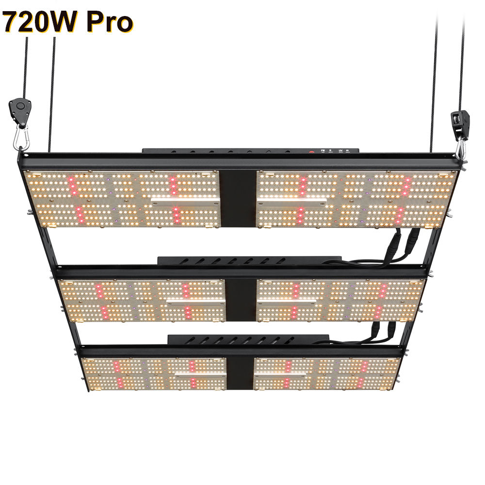 Bava 720W White UV IR RED Four Photosynthetic Spectrum DimmedとIntensified Individually Idea Spectral Ratios Led Grow Light