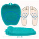 Foot Care Cleaner and Massager Silicone Shower Cleaning Bath Scrubber Washing Foot Brush
