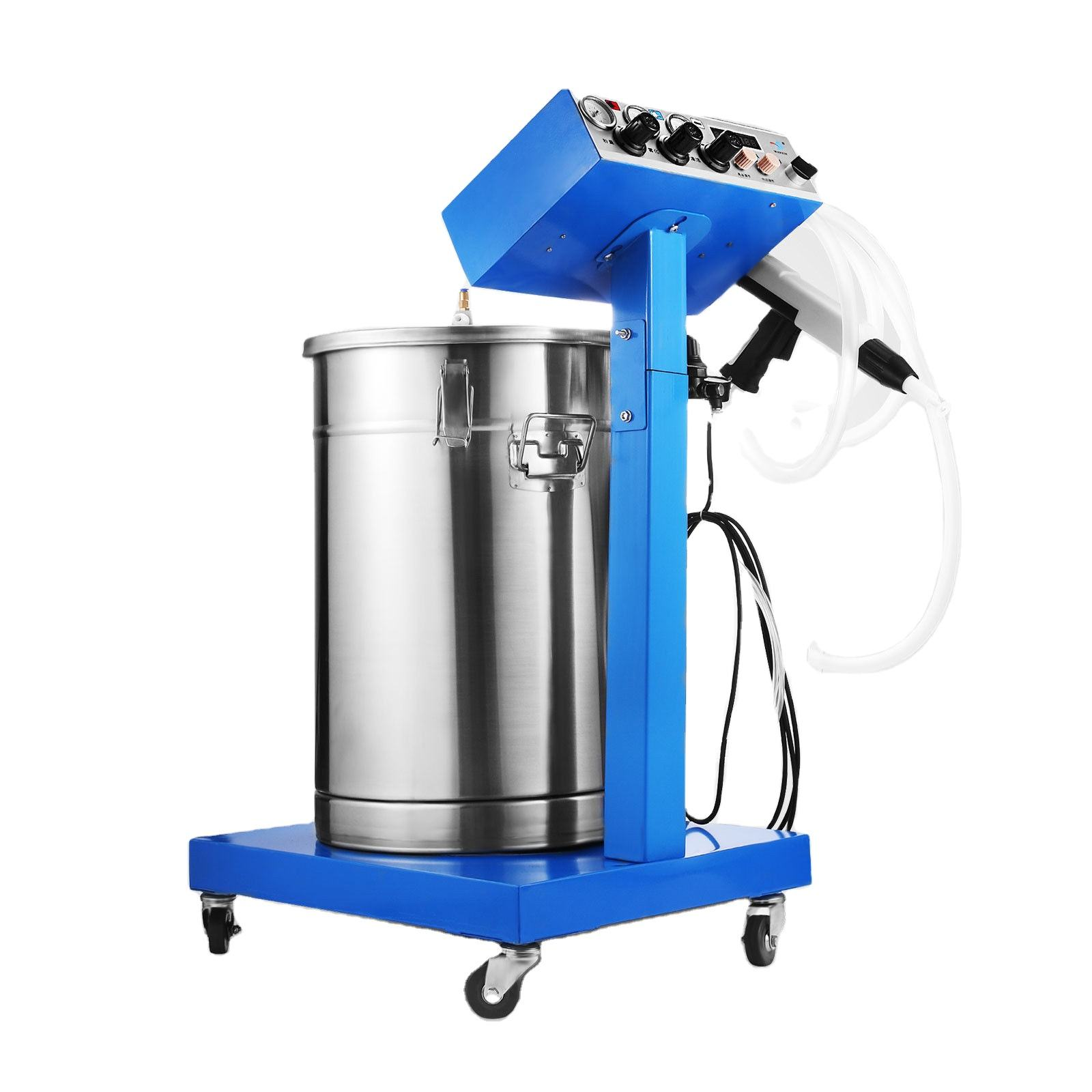 Electrostatic Powder Coating System with Spray Gun WX-958 Machine Spraying