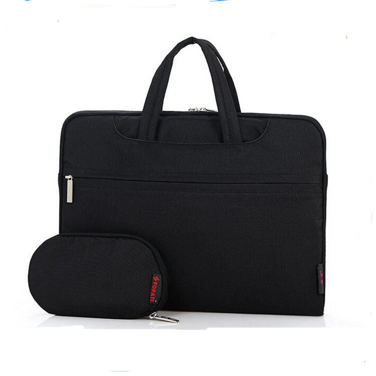 High quality business waterproof nylon black lady laptop bag briefcase for ladies online China
