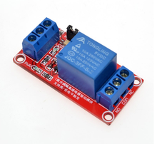 One 1 Channel 5V Relay Module Board Shield with Optocoupler Support High and Low Level Trigger