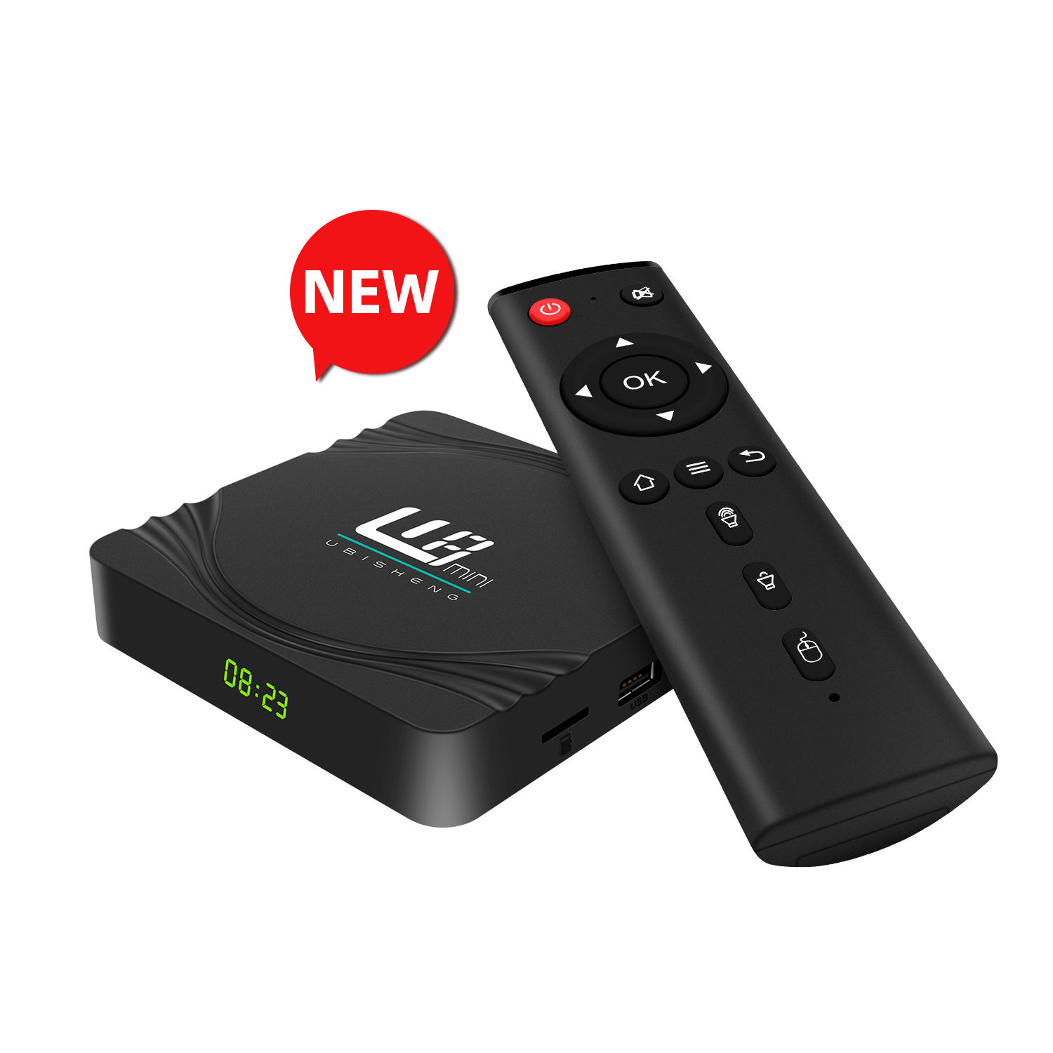 Alta definição box tv Android Youtube s905w dth tv rede Media Player set-top box