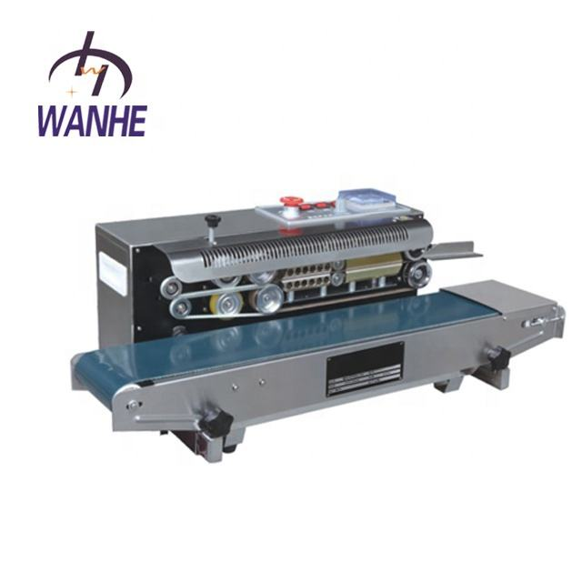 DBF-900 Automatic Continuous Band Sealer And Plastic Bag Sealing Machine