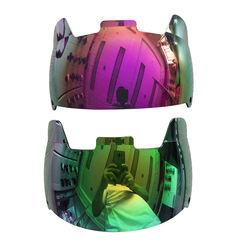 Universal fit anti-fog football helmet visor clear eye shield visor for young & adult