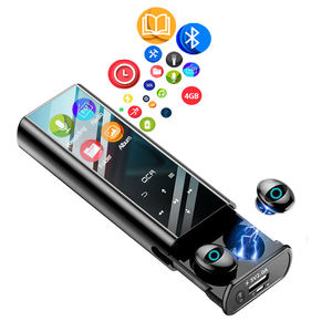 10 In 1 MP3 Player 4 Inch LCD Multi-function Blue tooth Earbuds IPX7 Waterproof Power Bank TWS Wireless Earphone