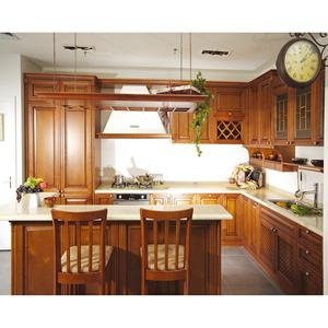 Durable And Elegant Solid Wood Pantry Kitchen Cabinet Variants Alibaba Com