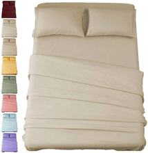 1800 Bedding Wrinkle Fade Stain Resistant Hypoallergenic Brushed Microfiber Sheet Set